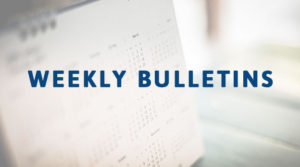 Weekly Bulletins Rock Valley